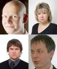 Kinnisvara täiendkoolitus: Tõnu Toompark, Evi HIndpere, Marko Sula, Urmas Tehver, Igor Fedotov