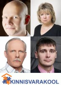 Kinnisvarakool: Tõnu Toompark, Evi Hindpere, Martin Kõiv, Martin Vahter