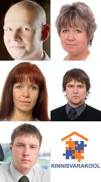 Kinnisvara täiendkoolitus: Tõnu Toompark, Evi Hindpere, Tiina-Piret Peegel, Marko Sula, Igor Fedotov