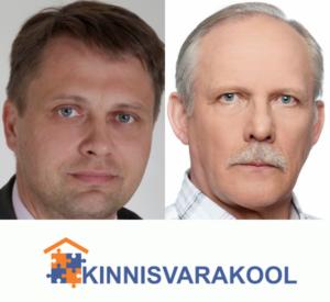 Kinnisvarakooli lektorid Andry Krass ja Martin Kõiv